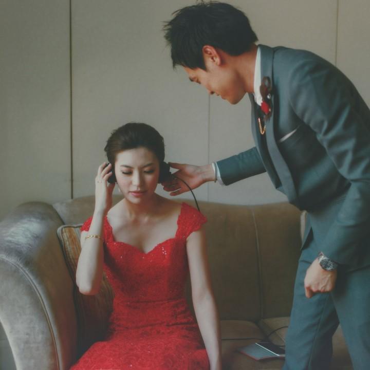 No.08 婚禮流程精選推薦:儀式前準備-新人