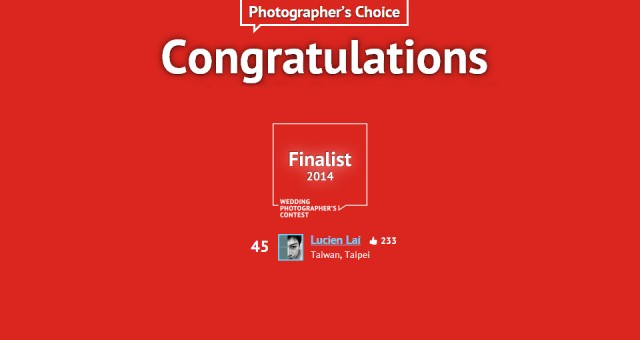 Mywed Top50(Photographer's Choice)