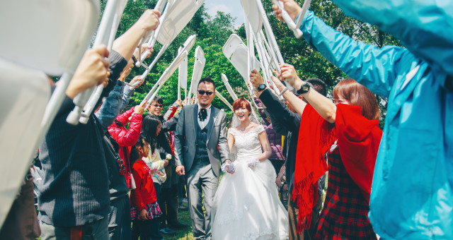 Nikon D5初登板-戶外結婚婚禮實拍照