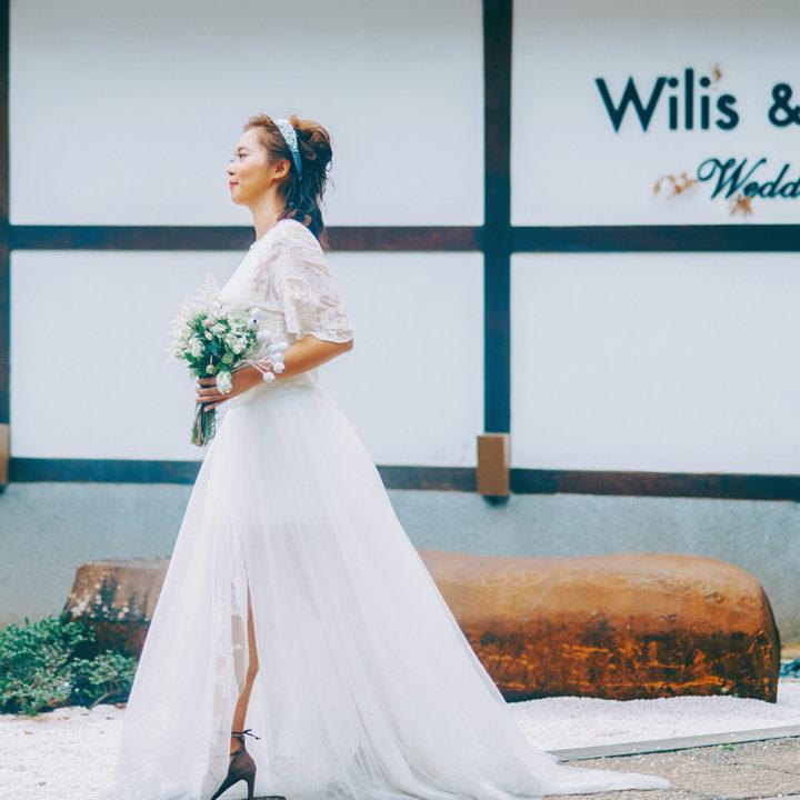 婚攝 | Audry & Wilis-結婚 { 台北-北投文物館 }