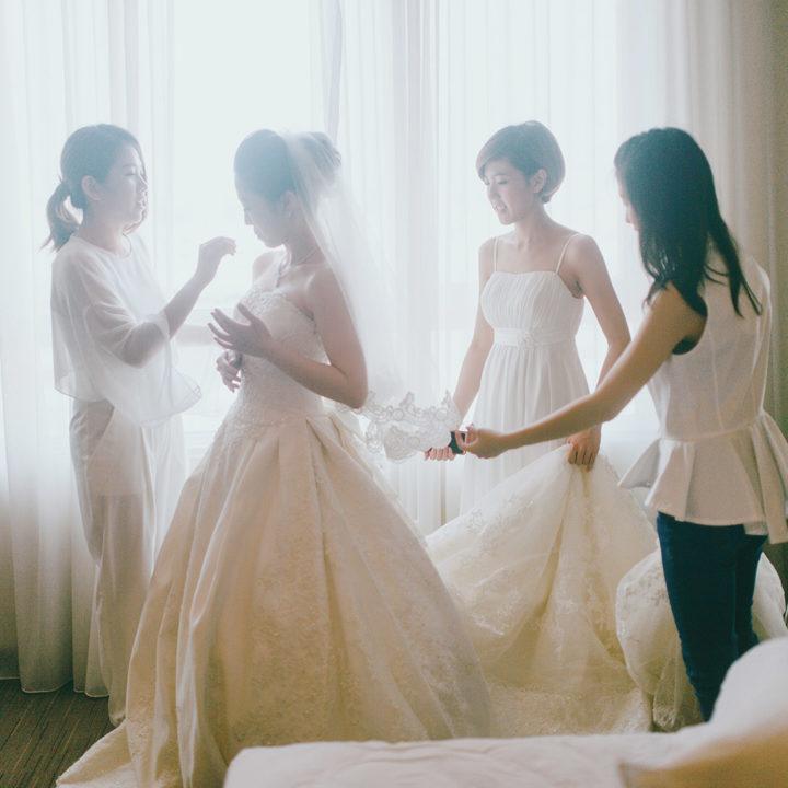婚攝 | 青萍 & 志安-天主教會婚禮 { 桃園-彭園婚宴會館 }