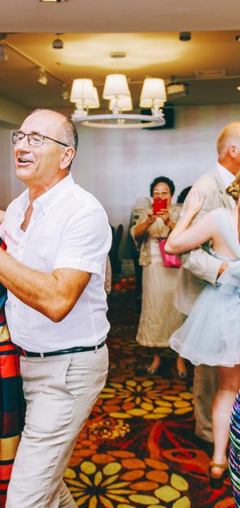 婚攝 | Cinzia & Björn-婚禮宴客 { 台中-球愛物語景觀婚禮會館 }