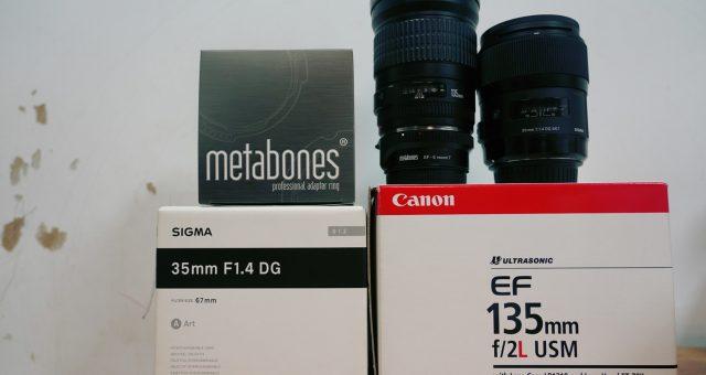 Sony A9 A7R3入手不開箱心得 (3):Metabones 5轉接環