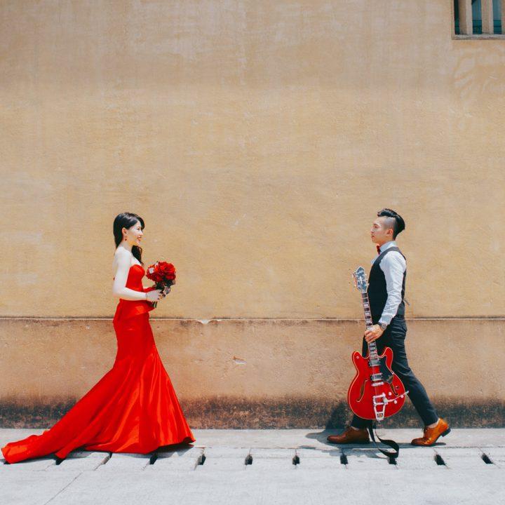 小白 & 罐頭 |自助婚紗|風格婚紗|美式婚紗|底片風格
