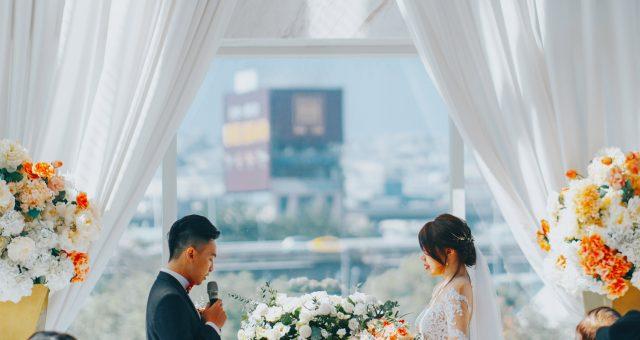 婚攝 | 小白 & 罐頭 – 婚禮 { 台中-萊特薇庭飯店式宴會廳-釜宮/玻璃儀式堂}