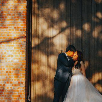 婚攝 | 宜庭 & 朝昇 -戶外證婚-美式婚禮 { 彰化-顏氏牧場II }